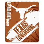 The Northwest Company University of Texas Painted Fleece Throw - view number 1