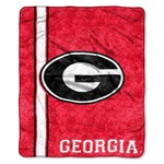 The Northwest Company University of Georgia Jersey Sherpa Throw - view number 1