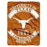 The Northwest Company University of Texas Rebel Raschel Throw