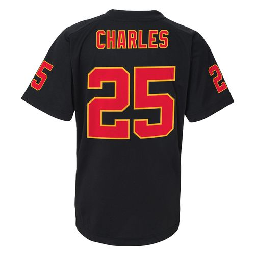 NFL Boys' Kansas City Chiefs Jamaal Charles #25 Stealth Performance T-shirt