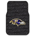 The Northwest Company Baltimore Ravens Front Car Floor Mats 2-Pack