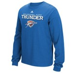 adidas Men's Oklahoma City Thunder Basic Long Sleeve T-shirt
