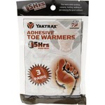 Yaktrax Adhesive Toe Warmers 3-Pack