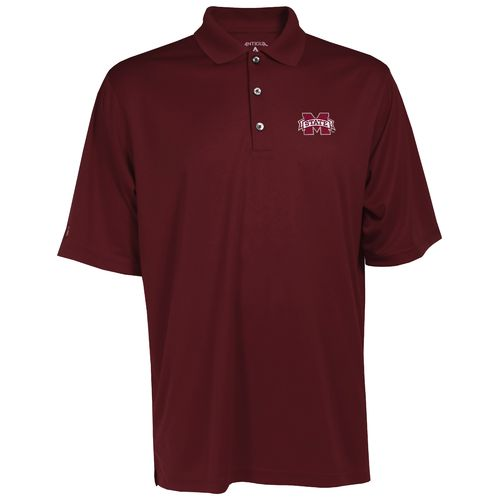 Antigua Men's Mississippi State University Exceed Polo Shirt