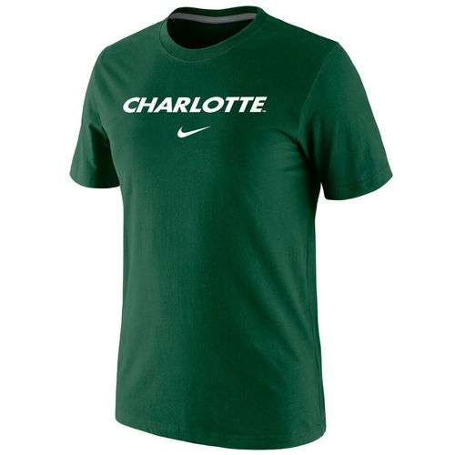 Nike™ Men's University of North Carolina at Charlotte Cotton Short Sleeve T-shirt