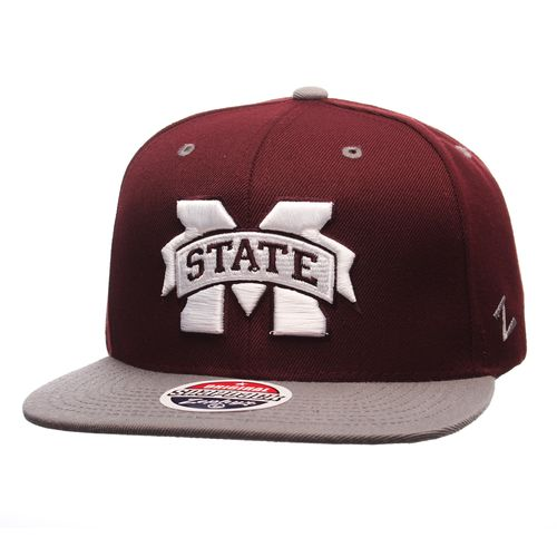 Zephyr Adults' Mississippi State University Z11 Core Snapback Hat