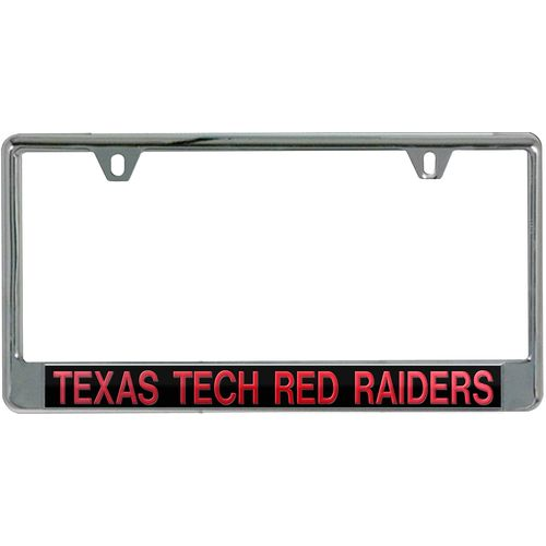 Stockdale Texas Tech University Mirror License Plate Frame | Academy