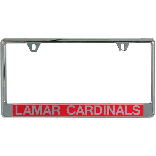 Stockdale Lamar University Mirror License Plate Frame