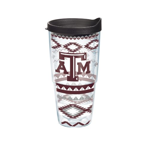 Tervis Texas A&M University Aztec Stripes 24 oz. Tumbler with Lid
