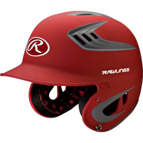 Display product reviews for Rawlings Adults' R16 2-Tone Matte Batting Helmet