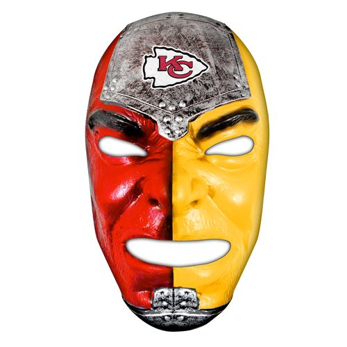 Franklin Adults' Kansas City Chiefs Fan Face Mask - view number 1