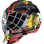 Franklin Boys' Chicago Blackhawks GFM 1500 Goalie Face Mask - view number 1