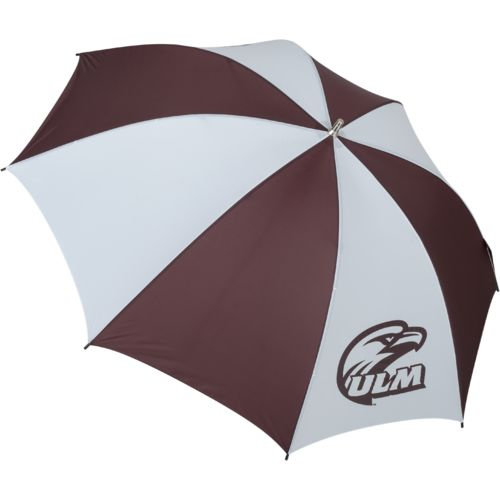 Storm Duds University of Louisiana at Monroe Fiberglass Shaft Golf Umbrella with Color-Coordinated I
