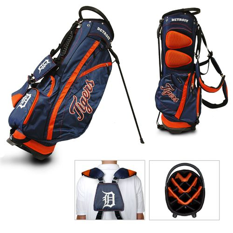 Team Golf Detroit Tigers Fairway 14-Way Golf Stand