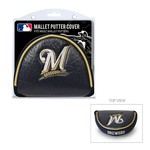 Team Golf Milwaukee Brewers Mallet Putter Cover - view number 1