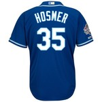 Majestic Men's Kansas City Royals Eric Hosmer #35 2015 World Championship Replica Jersey