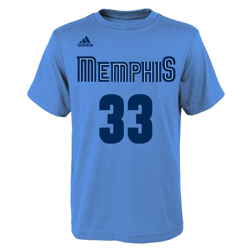 NBA Boys' Memphis Grizzlies Pau Gasol Flat Player T-shirt - view number 2