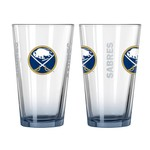 Boelter Brands Buffalo Sabres Elite 16 oz. Pint Glasses 2-Pack