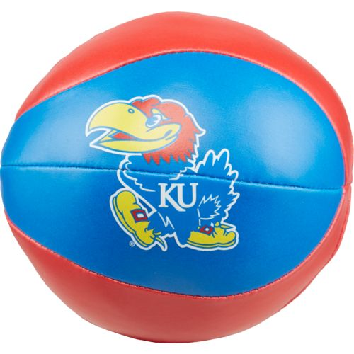 "Rawlings® University of Kansas Free Throw 4"" Softee Basketball"