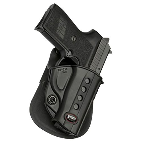 Fobus 1911-Style with Rails Roto Evolution Paddle Holster