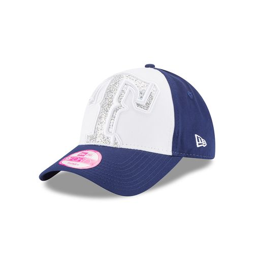 New Era Women's Texas Rangers 9FORTY Glitter Glam Cap