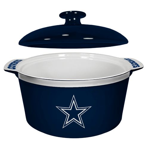 Boelter Brands Dallas Cowboys Gametime 2.4 qt. Oven Bowl