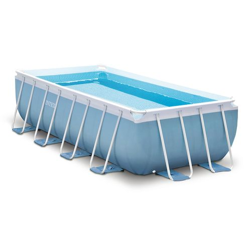 INTEX 16 ft x 8 ft x 42 in Prism Frame Pool Set with 1,000 Gal Filter Pump
