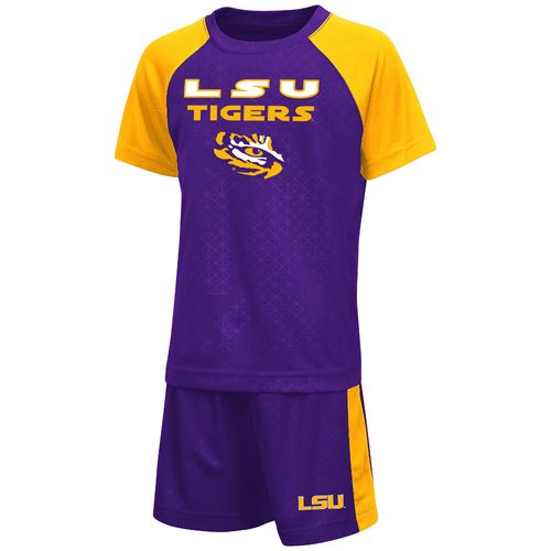 Colosseum Athletics Toddler Boys' Louisiana State University Gridlock Set