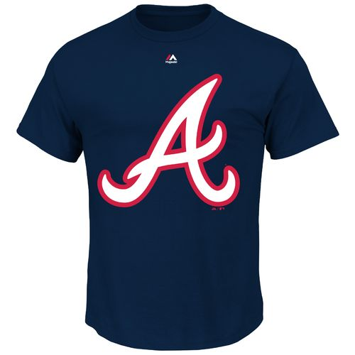 Majestic Men's Atlanta Braves Official Logo T-shirt