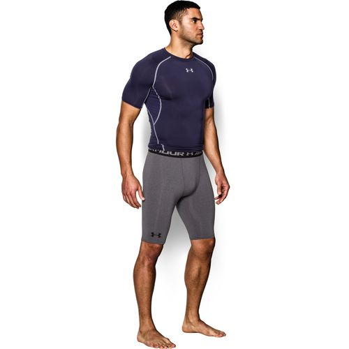 Under Armour Men's HeatGear Long Compression Short - view number 5