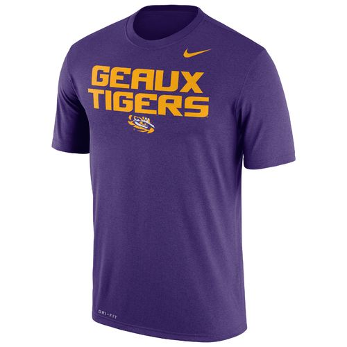 Nike Men's Louisiana State University Legend Dri-FIT Short Sleeve T-shirt