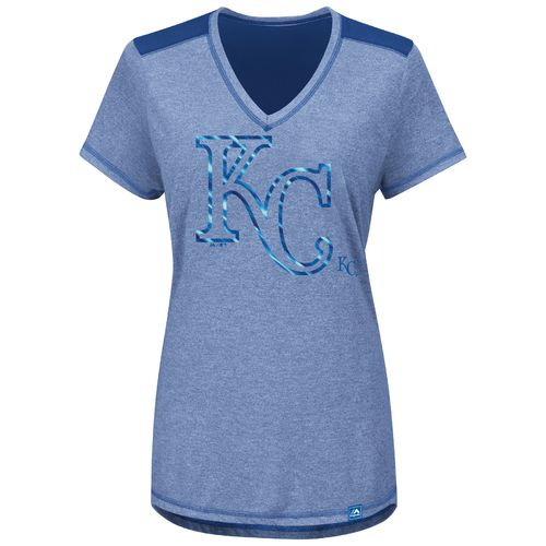 Majestic Women's Kansas City Royals Bright Lights V-neck