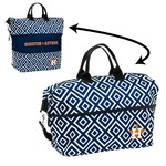 Logo Women's Houston Astros Double Diamond Expandable Tote Bag