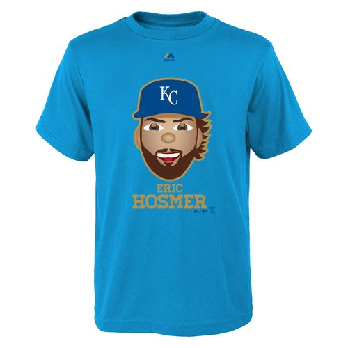 Majestic Boys' Kansas City Royals Eric Hosmer Gold