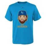 Majestic Boys' Kansas City Royals Eric Hosmer Gold Edition Emoji T-shirt