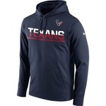 Nike Men's Houston Texans Circuit Pullover Hoodie