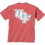 New World Graphics Women's University of Central Florida Floral T-shirt