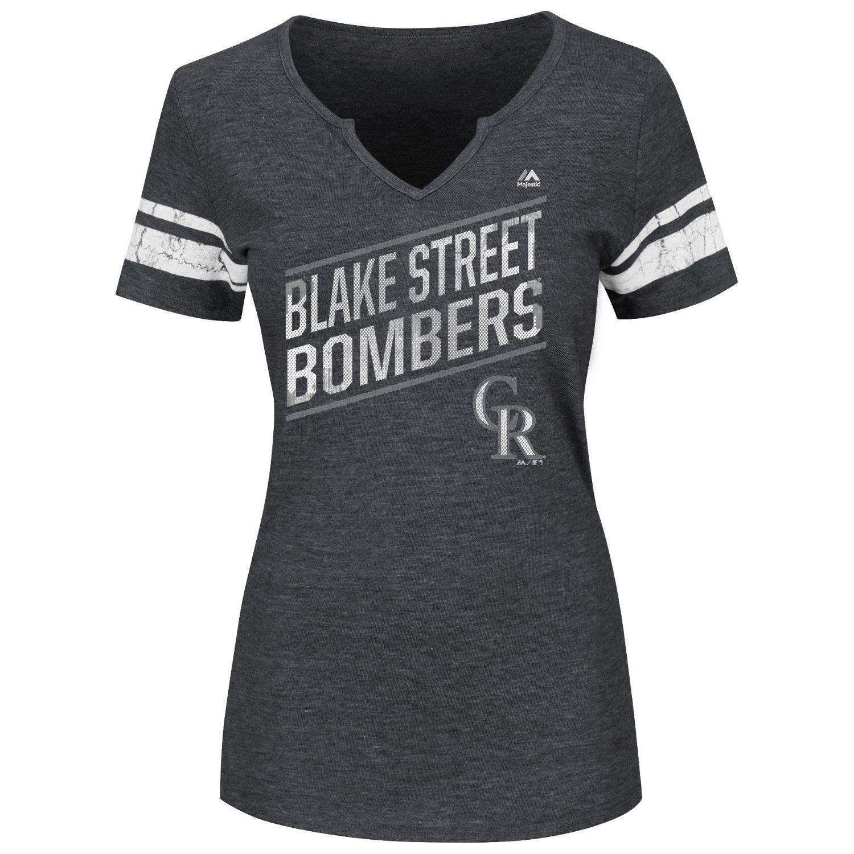 Majestic Women's Colorado Rockies Success Is Earned T-shirt