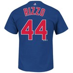 Majestic Men's Chicago Cubs Anthony Rizzo #44 T-shirt
