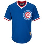 Majestic Men's Chicago Cubs Ernie Banks #14 Cooperstown Cool Base 1968-69 Replica Jersey - view number 2
