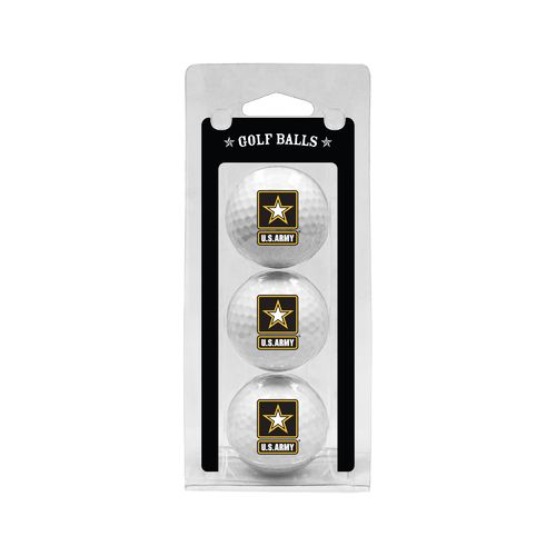Team Golf Army West Point Golf Balls 3-Pack