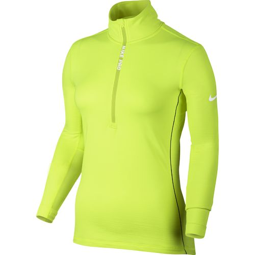 Nike Women's Nike Pro Hyperwarm Long Sleeve 1/2