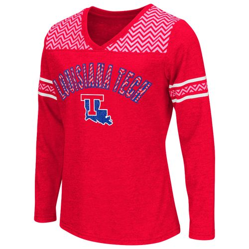 Colosseum Athletics™ Girls' Louisiana Tech University Cupie Long Sleeve T-shirt