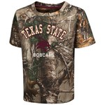 Colosseum Athletics™ Toddler Boys' Texas State University Blacktail Camo T-shirt