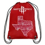 Team Beans Houston Rockets Drawstring Backpack