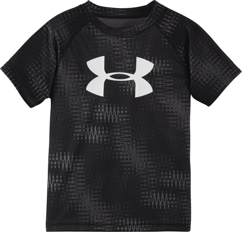 Under Armour™ Boys' Electro Print Big Logo T-shirt