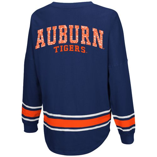 Colosseum Athletics™ Women's Auburn University My Boyfriend Varsity Pullover