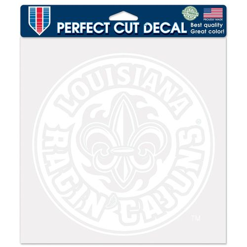 WinCraft University of Louisiana at Lafayette Perfect Cut Decal