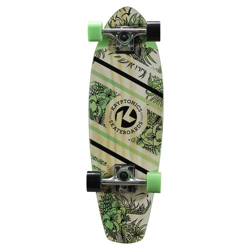"Display product reviews for Kryptonics 27"" Aloha Floral Cruiser Board"