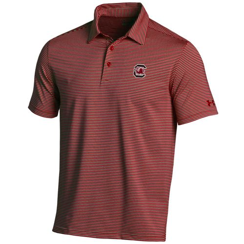 Under Armour™ Men's University of South Carolina Kirkby Polo Shirt